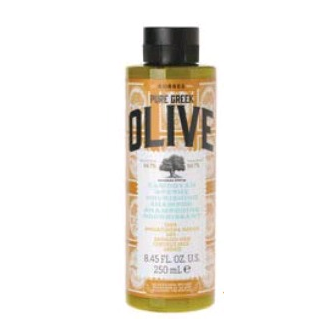 Korres Pure Greek Olive Σαμπουάν Θρέψης με Εκχύλισμα Φύλλων Ελιάς για Ξηρά-Αφυδα γυναικα   μαλλια   σαμπουαν   ξηρά αφυδατωμένα