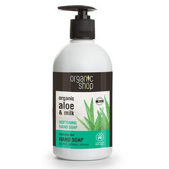 Natura Siberica - Organic Shop Softening Hand Soap Barbados Aloe Cosmos Natural  προσωπικη υγιεινη   φροντιδα χεριων   κρεμοσαπουνα
