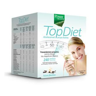 Power Health Top Diet Υποκατάστατο Γεύματος για τον Έλεγχο του Σωματικού Βάρους  αδυνατισμα   ειδικη διατροφη   υποκαταστατο γευματοσ