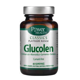 Power Health Classics Platinum Glucolen ,Συμπλήρωμα Διατροφής για τη διατήρηση φ ενεργεια   διατροφη   θελω συμπληρωμα για    διαβήτης