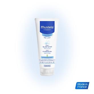 Mustela 2 in 1 Cleansing gel 200ml - Tζελ Καθαρισμού 2 σε 1, για το Σώμα και τα  μητερα   παιδι   φροντιδα παιδιου   σαμπουαν