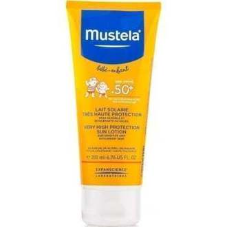 Mustela Very High Protection Sun Lotion 200ml χειμωνασ   καλοκαιρι   αντιηλιακη προστασια   βρεφικα  παιδικα αντιηλιακα