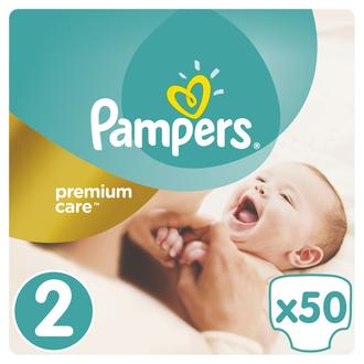 Pampers Premium Care Jumbo Pack N:2 - 3-6 kg - Βρεφικές Πάνες - 50τμχ πακετα προσφορων   πακετα προσφορων p g