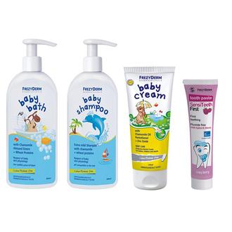 Pharmagoods Πακέτο Προσφοράς - Frezyderm baby Shampoo Βρεφικό Σαμπουάν με Αντλία πακετα προσφορων   για τη γυναικα    για το σπιτι   προσφορεσ