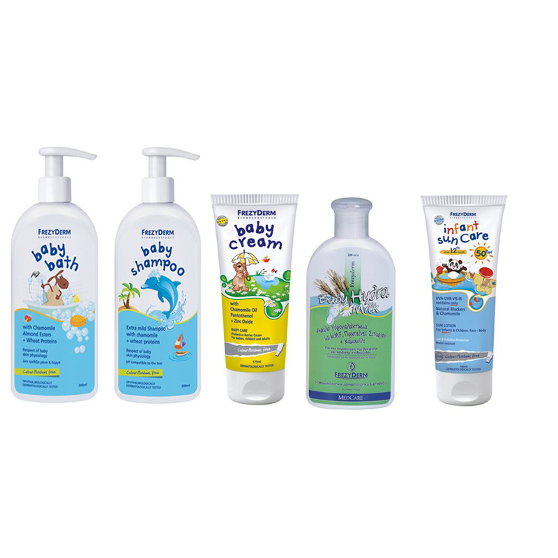 4c86202cb18 Pharmagoods Πακέτο Προσφοράς - Frezyderm baby Shampoo Βρεφικό ...