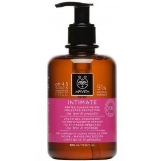 Apivita Intimate Gentle Cleansing Gel Special Edition 300ml - Απαλό Gel Καθαρισμ γυναικα   ευαισθητη περιοχη   καθαρισμοσ  πλυσεισ