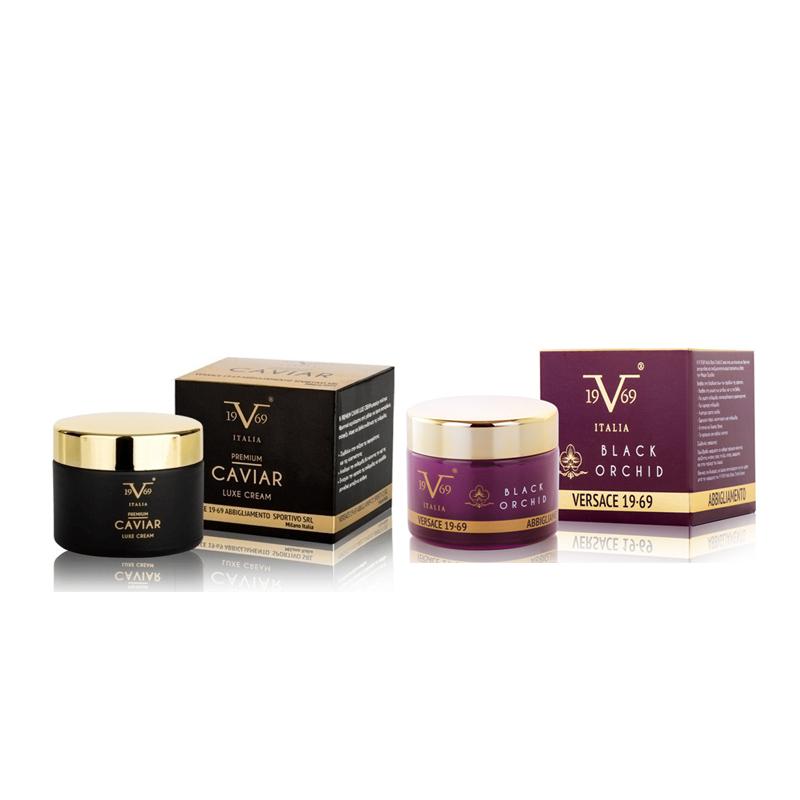 0e157502bc ... Versace 19.69 - Πακέτο Προσφοράς - Caviar Luxe Cream (50ml)   Black  Orchid Anti-Wrinkle Cream 50ml. Product show red