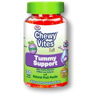 Chewy Vites Tummy Support , Προβιοτικά για Παιδιά 30 Ζελεδάκια