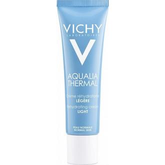 Vichy Aqualia Thermal Light Cream Ενυδατική Κρέμα Ημέρας, 30ml - Κρέμα Ενυδατικής Αναπλήρωσης Προσώπου Για Κανονικές - Μικτές Επιδερμίδες