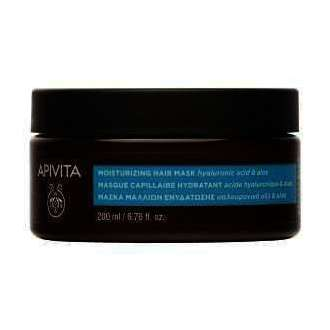Apivita Μάσκα Μαλλιών Ενυδάτωσης με Αλόη & Υαλουρονικό Οξύ 200ml
