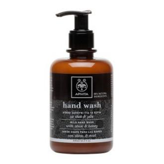 Apivita Απαλό Σαπούνι για τα Χέρια με Ελιά & Μέλι 300ml γυναικα   σωμα   σαπουνια