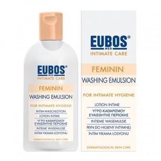 Eubos Feminin Washing Emulsion Liquid 200 ml γυναικα   ευαισθητη περιοχη   καθαρισμοσ  πλυσεισ