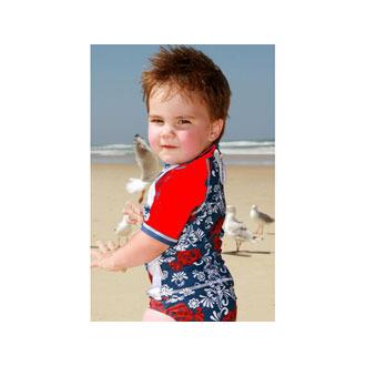 Αντιηλιακή Μπλούζα Με Κοντό Μανίκι Νο3 Μ (24-36 μηνών) χειμωνασ   καλοκαιρι   εποχιακα   αντιηλιακα ρουχα  μαγιο