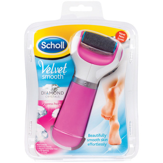 Dr.Scholl Velvet Soft Diamond Ηλεκτρική Λίμα Ποδιών Ροζ προσωπικη υγιεινη   φροντιδα ποδιων   ξηρα σκασμενα ποδια