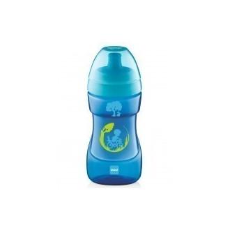 MAM Sports Cup Wave Blue 12+ Μηνών 330ml (470 μητερα   παιδι   αξεσουαρ βρεφουσ   εξυπνα ποτηρακια