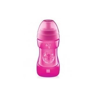 MAM Sports Cup Candy Pink 12+ Μηνών 330ml (470) μητερα   παιδι   αξεσουαρ βρεφουσ   εξυπνα ποτηρακια