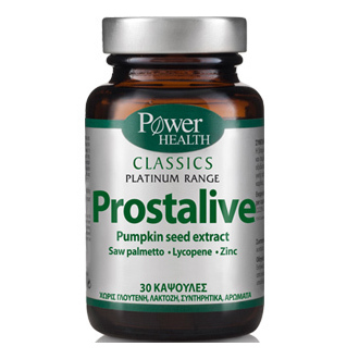 Power Health Classics Platinum Prostalive Συμπλήρωμα Διατροφής για την Καλή Υγεί ενεργεια   διατροφη   θελω συμπληρωμα για    ουροποιητικό σύστημα   προστάτης
