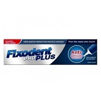 Fixodent Pro Plus Food Seal Στερεωτική Κρέμα Οδοντοστοιχιών 40gr προσωπικη υγιεινη   στοματικη υγιεινη   περιποιηση οδοντοστοιχιων