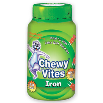 Chewy Vites Jelly Bears - Iron, 60 μασώμενα ζελεδάκια