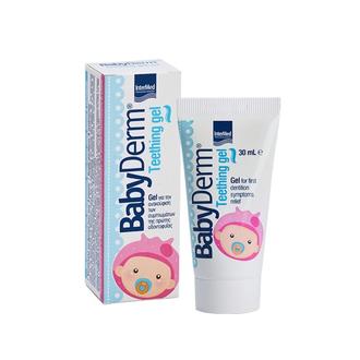 Intermed Babyderm First Toothpaste Για τον καθαρισμό και την προστασία των πρώτω μητερα   παιδι   φροντιδα παιδιου   στοματικη υγιεινη